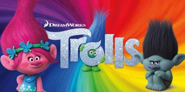Nouveau Dreamworks Trolls 3 en 1 DEL Lit Light
