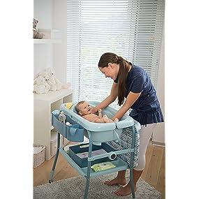 Ba era cambiador para beb chicco ergon mica plegable con - Altura cambiador bebe ...