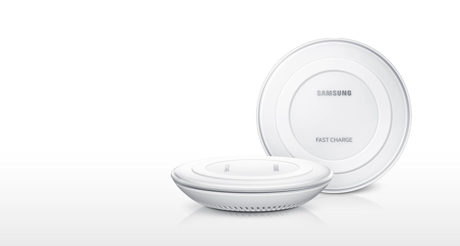 Samsung BT-EPPN920BWEGWW- Cargador rápido inalámbrico para smartphone, blanco