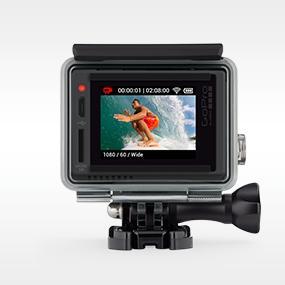 Aplicación de GoPro + GoPro Studio.