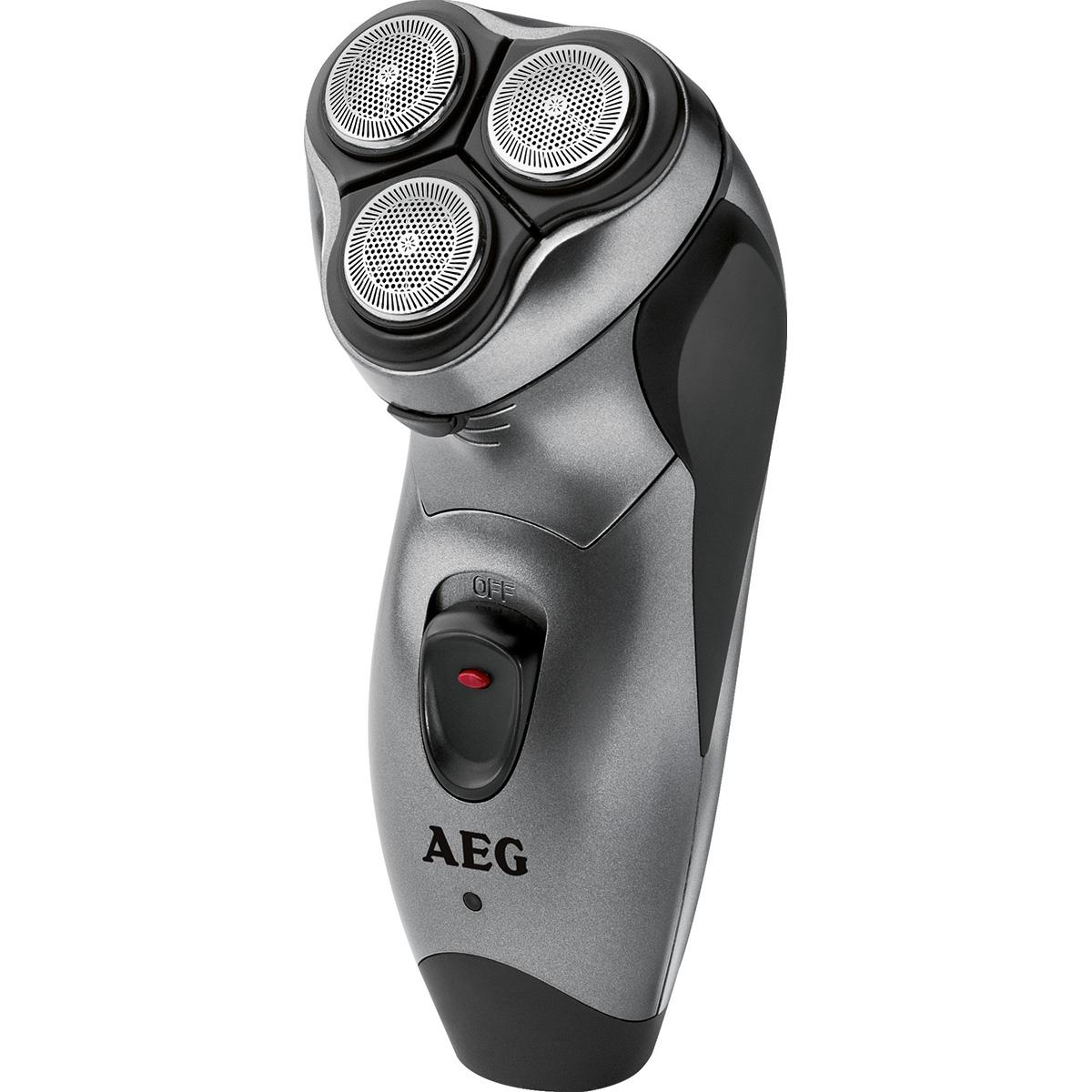 AEG HR 5654 - Afeitadora eléctrica rotativa para hombre, recorta ...