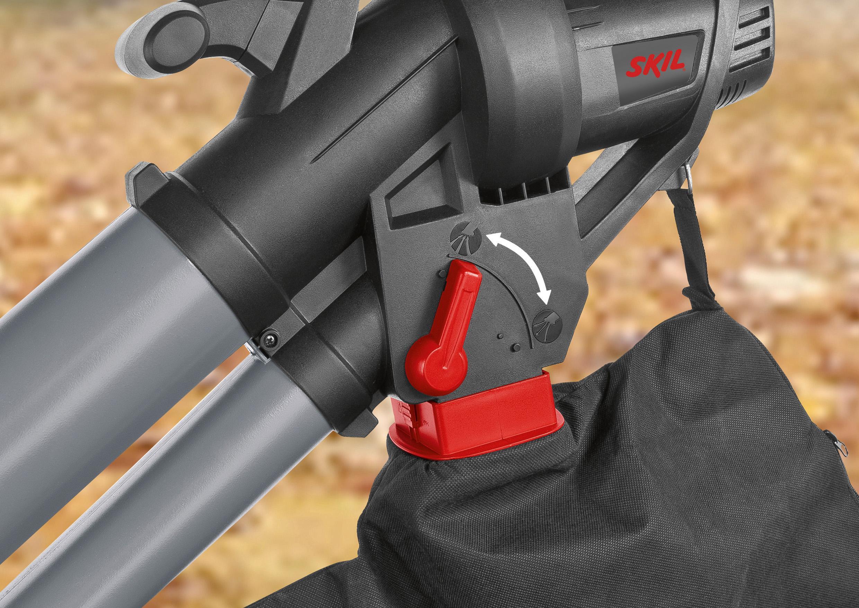 Skil 0796AA - Soplador, aspirador y triturador de hojas