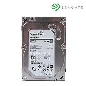 Seagate Barracuda - Disco Duro Interno de 2 TB (3.5