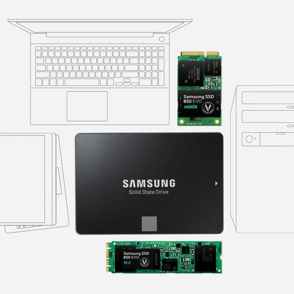 Samsung 850 EVO - Disco Duro sólido (Serial ATA III, 540 MB/s, 2.5 ...