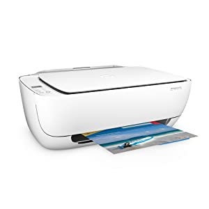 HP DeskJet 3630 - Impresora multifunción de tinta (B/N 8.5 PPM, color 6 PPM, WiFi), color blanco