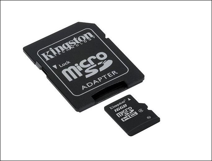 Kingston 8GB Micro SD Tarjeta De Memoria Teléfono Tablet Cámara Consola SDC4//8GB