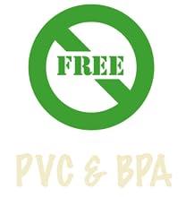 PVC & BPA Free