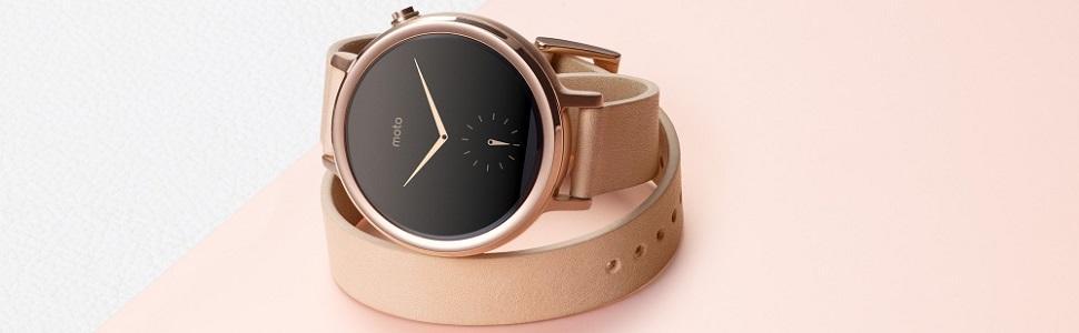 Motorola Moto 360 - Smartwatch (WiFi, pantalla de 1.37
