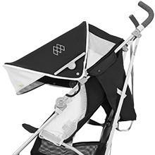 Maclaren quest silla de paseo negro plata for Capota maclaren quest