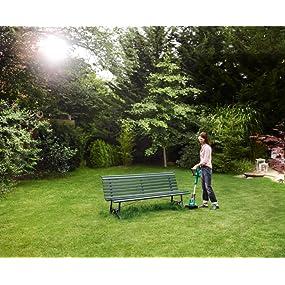 Bosch Home and Garden 0.600.8A5.E00 Bosch Cortabordes de batería Art 26-18 LI, 18 V, Verde