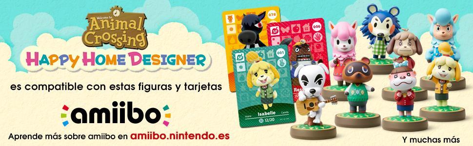 Animal Crossing: Happy Home Designer (Sin carta): nintendo ...