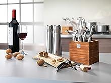 pelador, accesorios, regalo, acero, cocina