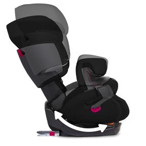 Cybex pallas fix silla de coche grupo 1 2 3 isofix azul beb - Silla cybex grupo 2 3 isofix ...