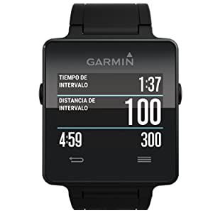 Garmin vívoactive - Smartwatch con GPS, color negro: GARMIN ...