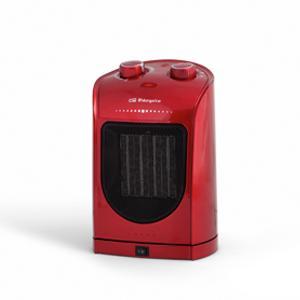 Orbegozo CR 5036 – Calefactor eléctrico cerámico con movimiento oscilante, 1800 W de potencia, 2 posiciones de calor