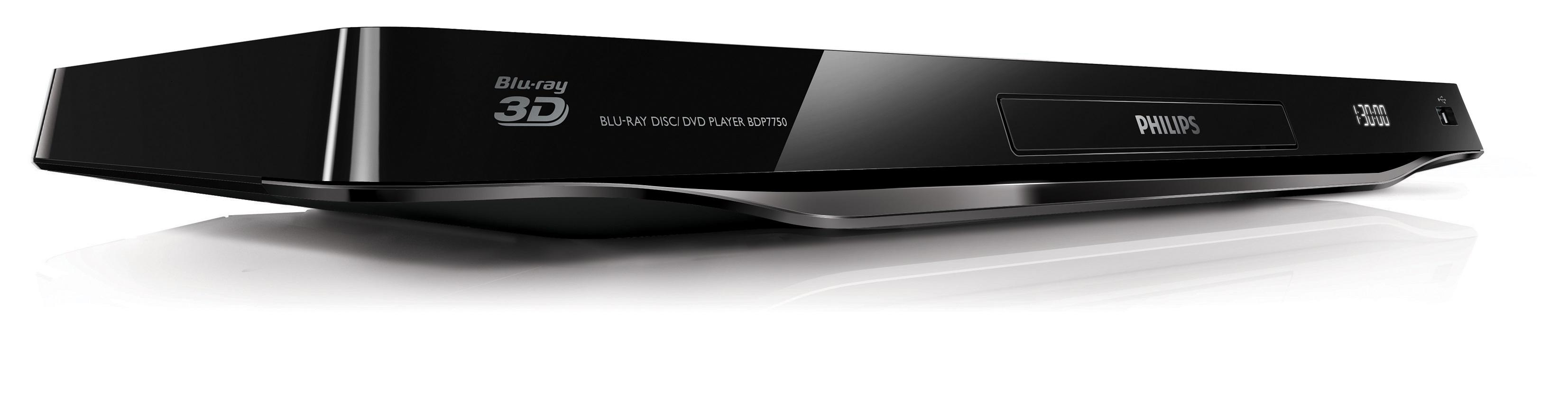 Philips BDP7750/12 - Reproductor de Blu-ray/DVD (4K Ultra
