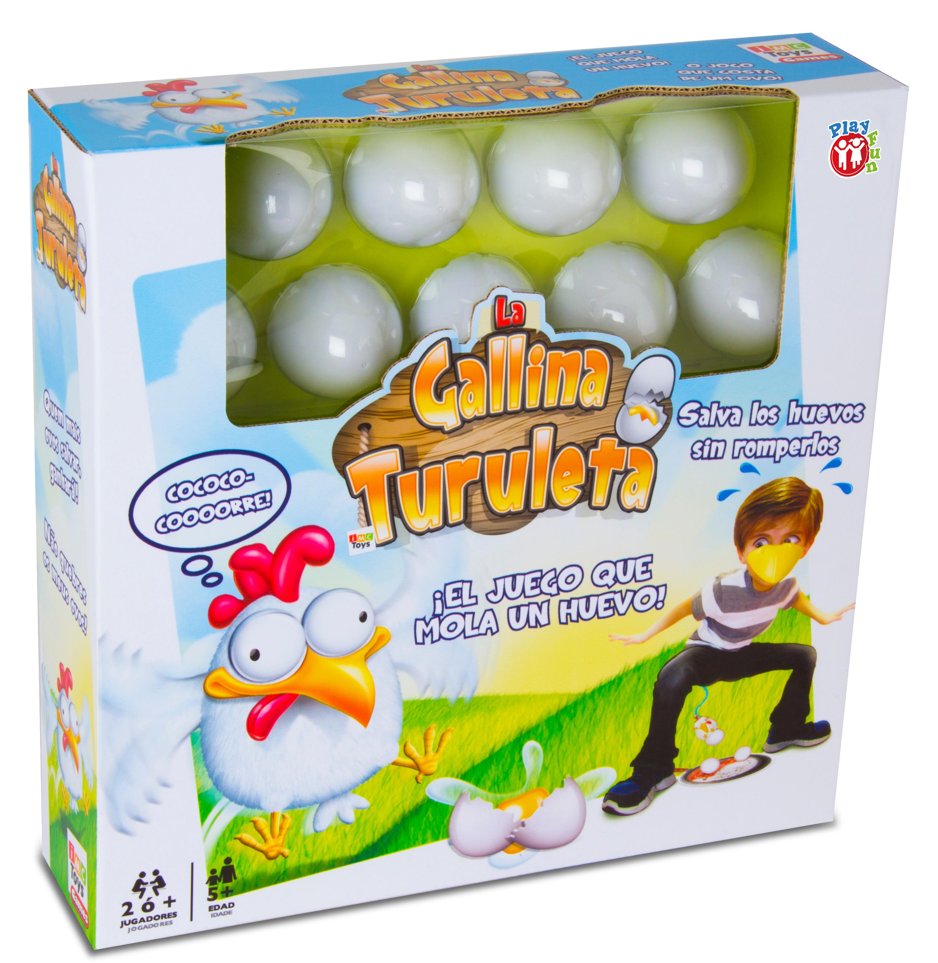 IMC Toys-La Gallina Turuleta, Miscelanea (94864): Amazon.es ...