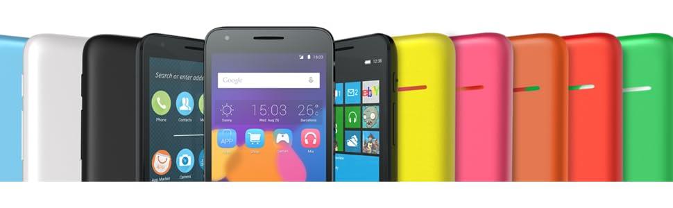 Alcatel Pixi 3 - Smartphone de 4.5