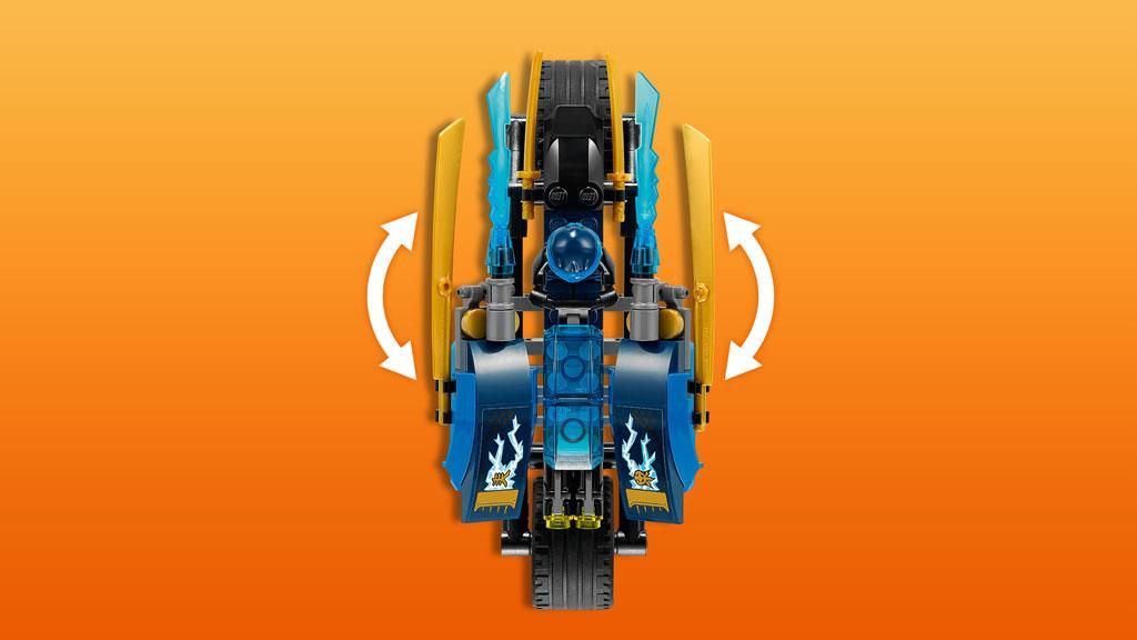 Lego Ninjago - Rayo del Desierto (70622): Amazon.es