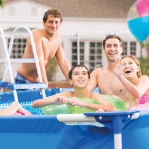 Disfruta del verano con una piscina Intex