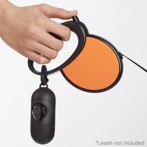 AmazonBasics - 300 Bolsas para excrementos de perro con dispensador y clip para correa.