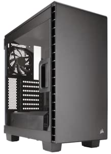 Corsair Carbide 400C - Caja de PC, Mid-Tower ATX, Ventana Lateral, Negro: Amazon.es: Informática