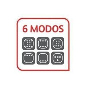 Moulinex Optimo OX444810 - Horno de Conveccción de 19 L, 6 Modos de Cocción , Termostato hasta 240 y Temporizador hasta 120 Minutos, Bandeja de ...