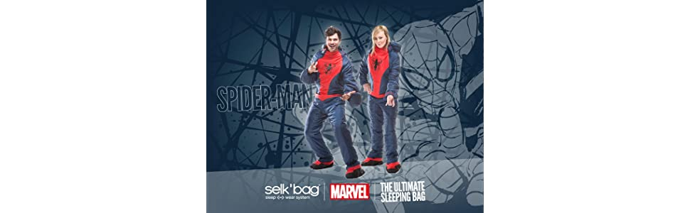Saco de dormir Spiderman by Selk´bag