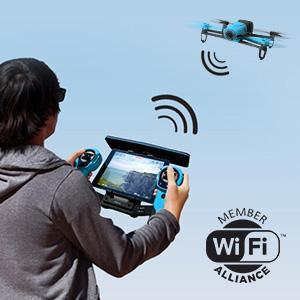 Bebop Drone Genera Su Propia Red Wi Fi
