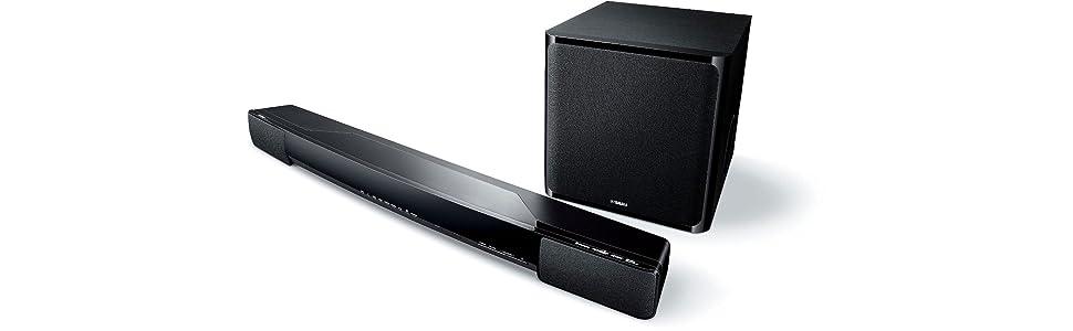 Yamaha yas 203 200w soundbar with wireless 100w for Yamaha soundbar with subwoofer