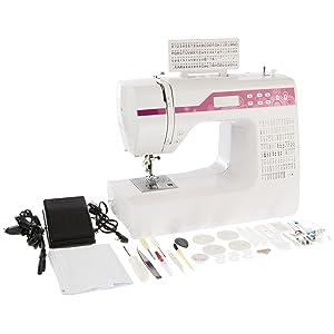 Levivo Máquina de coser de brazo libre NC1 con programación por ordenador