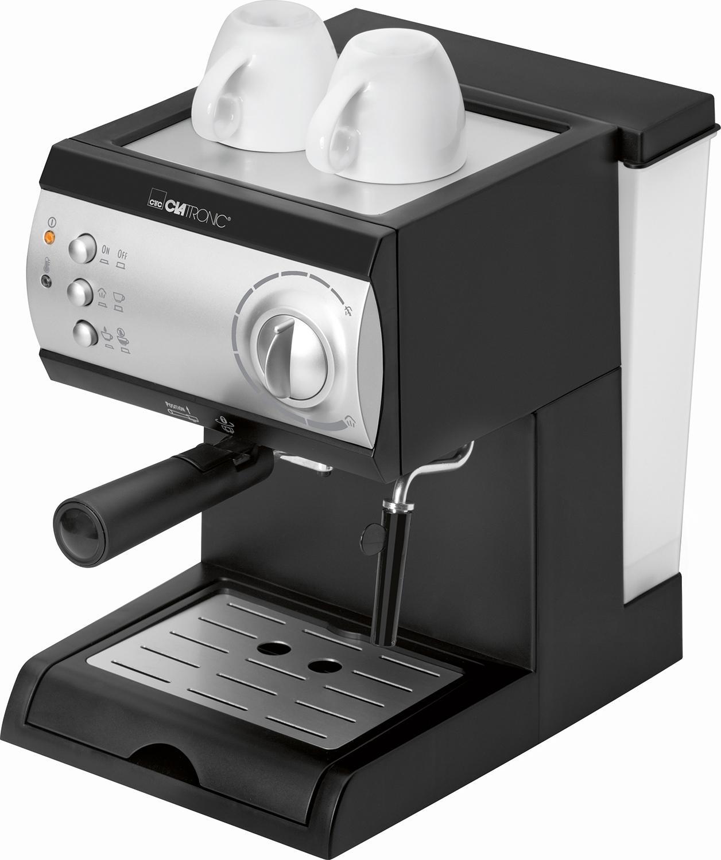 Clatronic ES 3584 Cafetera Espresso de 15 Bares de presión, 1,5 ...