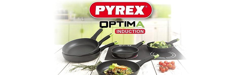 Optima Pyrex. Nuevas Sartenes de Inducción