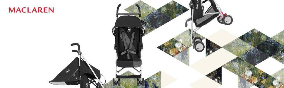 Maclaren triumph silla de paseo color cardinal - Silla maclaren amazon ...