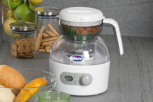 Chicco natural steam robot de cocina beb - Robot cocina amazon ...
