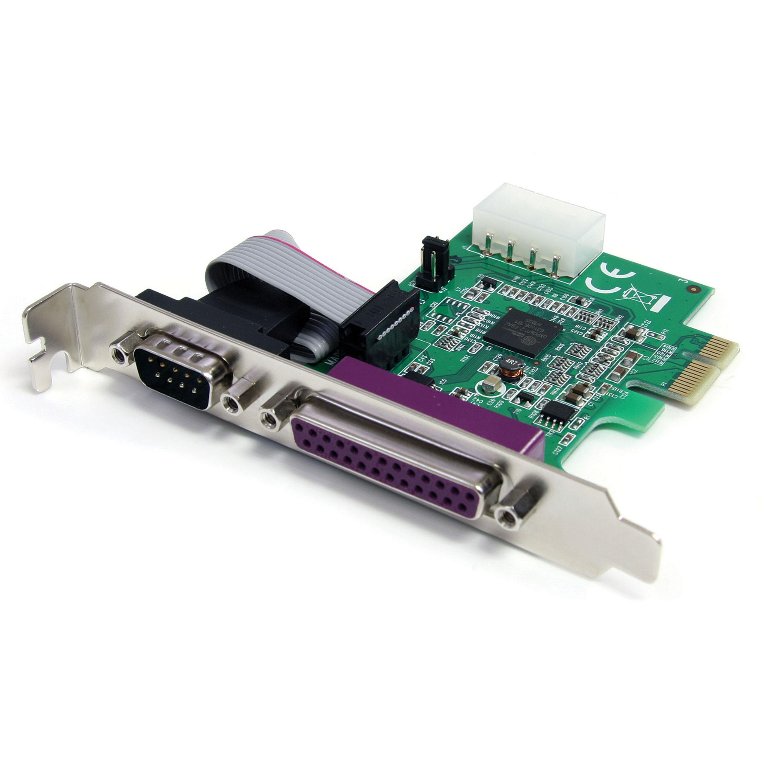 StarTech.com PEX1S1P952 - Adaptador Tarjeta PCIe de 1