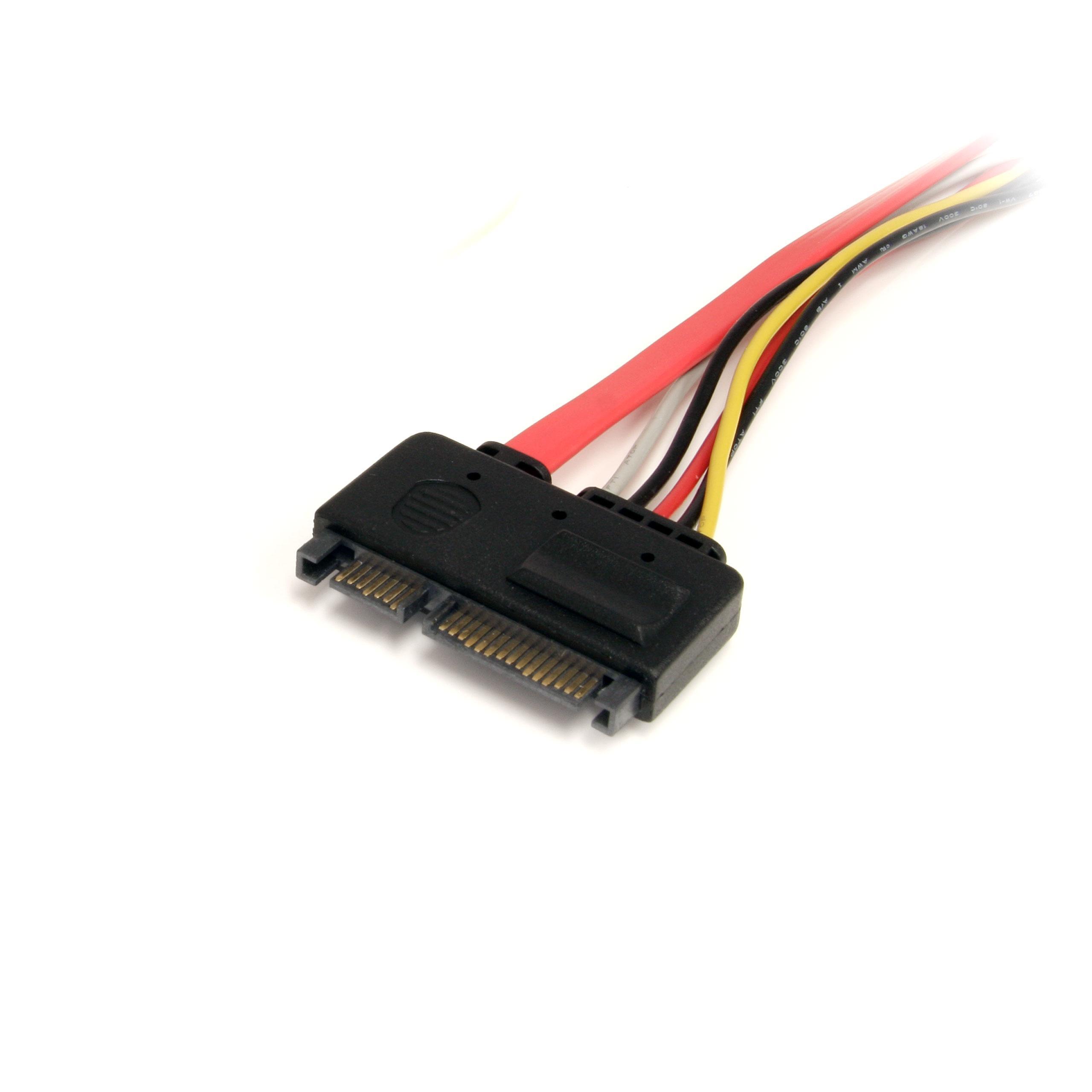StarTech.com SATA22PEXT - Cable de extensión SATA 22 Pines