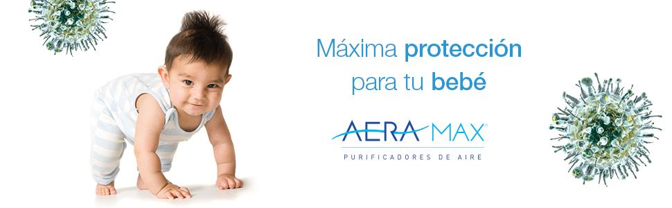 AeraMax DB-5 - Purificador de aire, color blanco: Amazon.es: Bebé