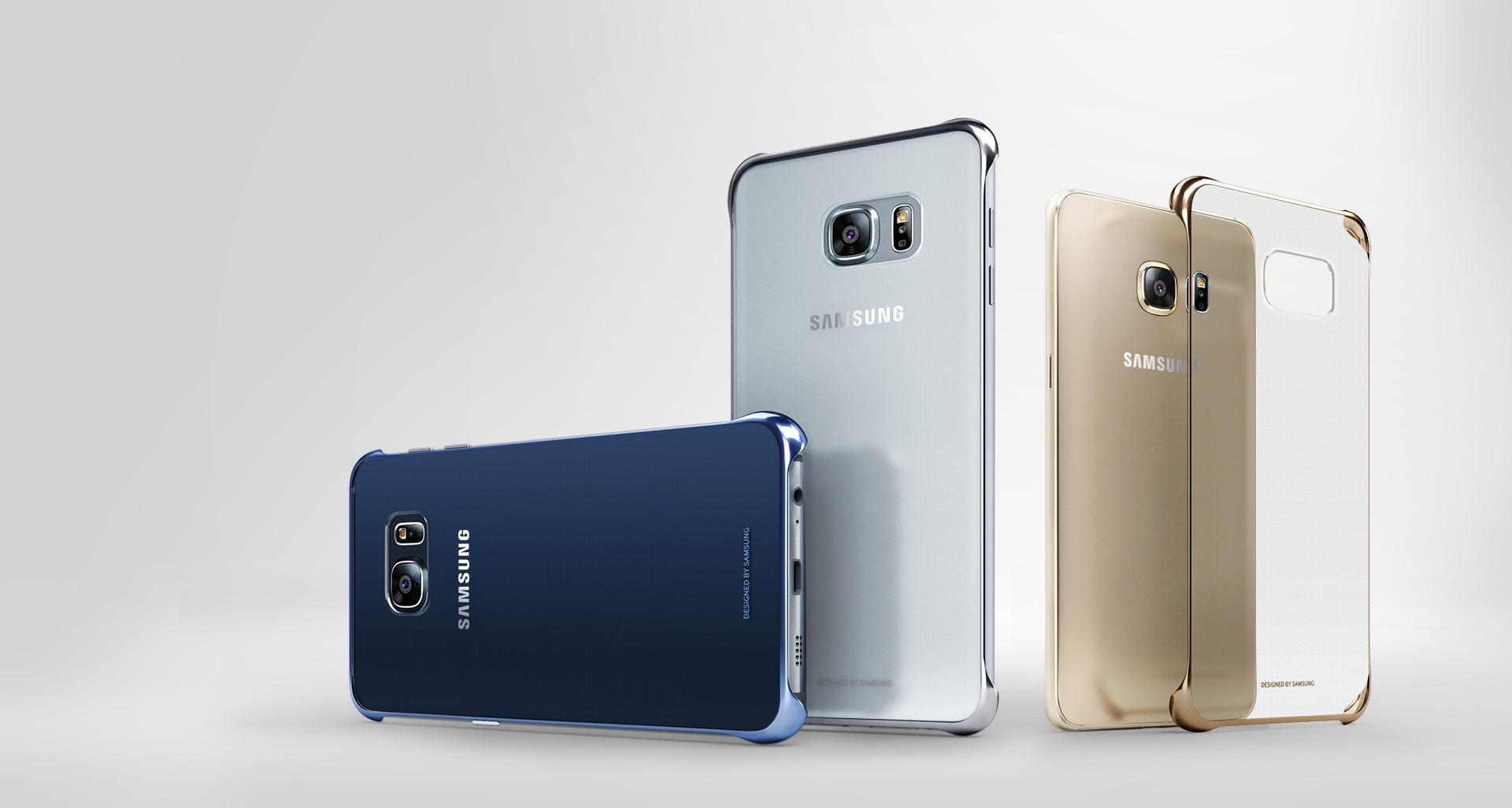 Samsung Clear Cover - Funda para Samsung Galaxy S6 Edge+, color ...