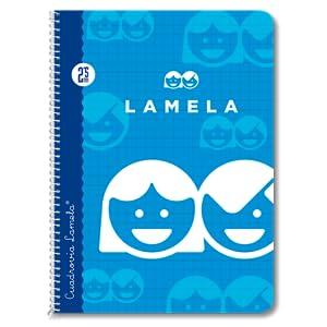 Lamela 07003 - Cuaderno Básico con Espiral, 40 hojas, 3 mm