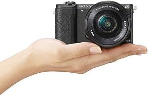 Sony ILCE-5100L - Cámara EVIL de 24.3 MP (pantalla 3 ...