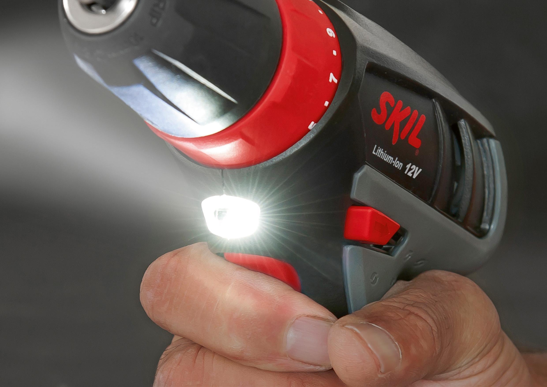 Skil 2320AA - Taladro atornillador (batería litio 12 V, Li ...