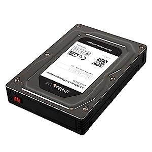 StarTech.com 25SAT35HDD - Caja de Disco Duro SATA HDD/SSD de 2.5 ...