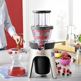 Moulinex Infiny Press Revolution ZU500A ¡Disfruta de tus zumos de la manera más rápida y silenciosa!