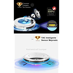 Conversión inteligente de frecuencia & TAC inteligente sensor mejorado