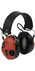 3M PELTOR SportTac MT16H210F-478-RD · Protector auditivo 3M PELTOR SportTac, 26 dB, plegable, orejeras verdes, MT16H210F-478-GN