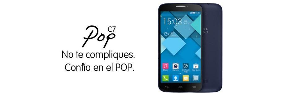 Alcatel POP C7 - Smartphone de 5