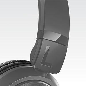 Banda de sujeción con auriculares ajustables