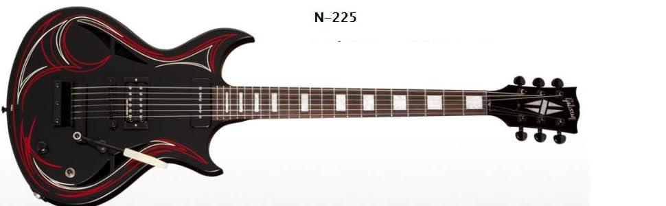 Gibson USA DN225N5BC1 N-225 - Guitarra Eléctrica (45,7 x 20,3 x ...
