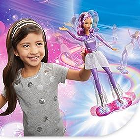 Amazon.es: Barbie - Muñeca Fashion, Skate galáctico